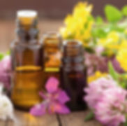 essential oils, massage, body, properties, lymph circulation, relaxing, revitalizing