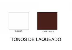 BLANCO Y CHOCOLATE