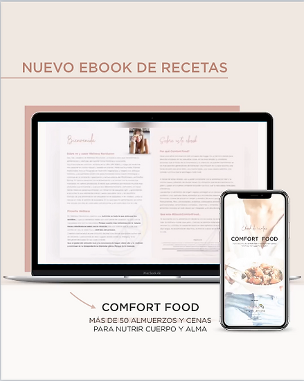 Ebook de recetas Comfort Food
