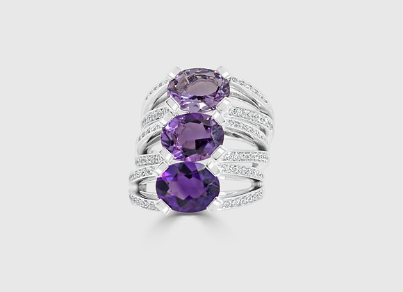 PURPLE - Triple ring