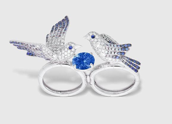 LOVEBIRDS - Double Ring