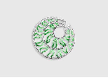 MEDUSA  - Emerald ring