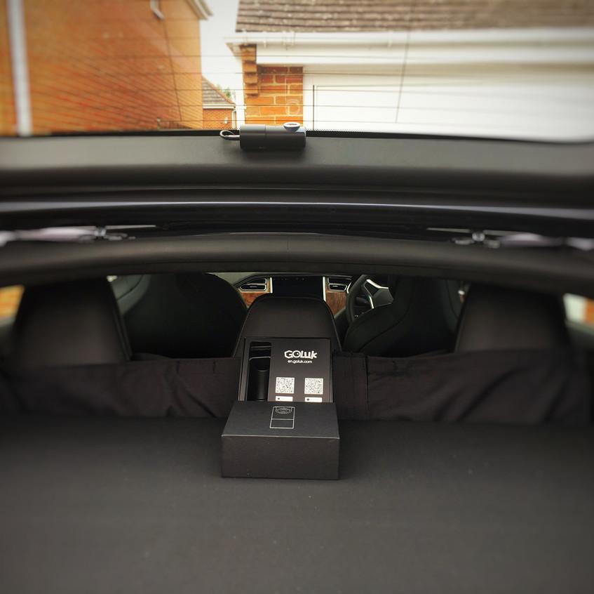 Tesla Model S Dashcam Goluk T1 T3 Newport Wales