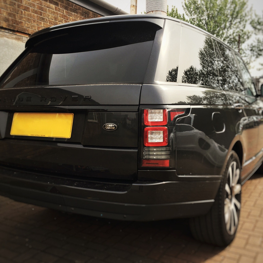 Goluk T1 Front Camera install in a Range Rover Vogue SE