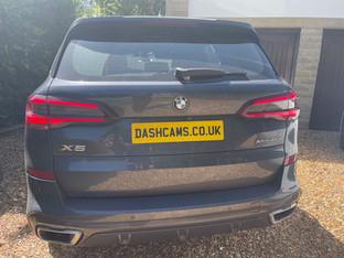 BMW X5 Dashcam install in Yorkshire
