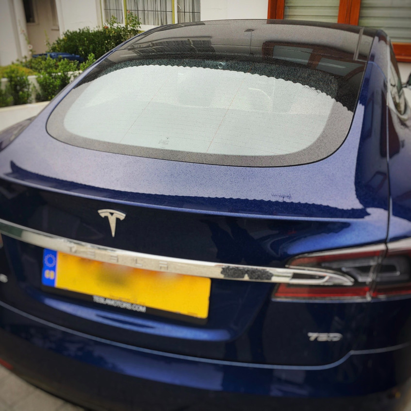 Tesla Model S Dashcam Installation Goluk T1 T3 East Finchley London