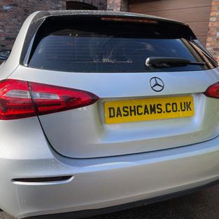 Mercedes A Class Dashcam install in Manchester