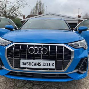 Audi Q3 S Line Dashcam install