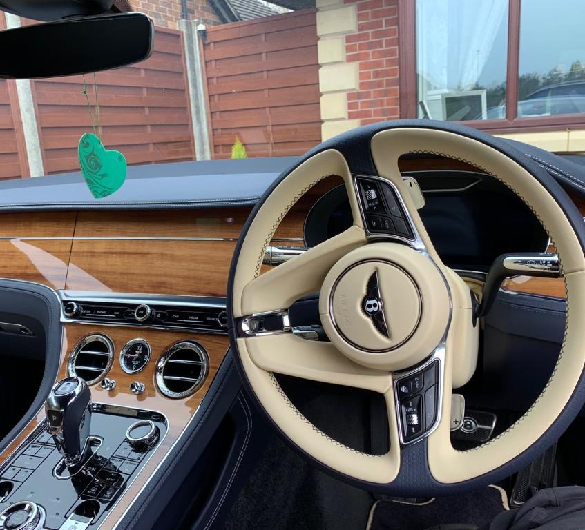 Bentley GT Dashcam