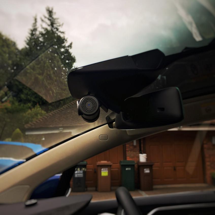 Tesla Model X Dashcam Installation Goluk T1 T3 Rickmansworth London Just £399 full fitted