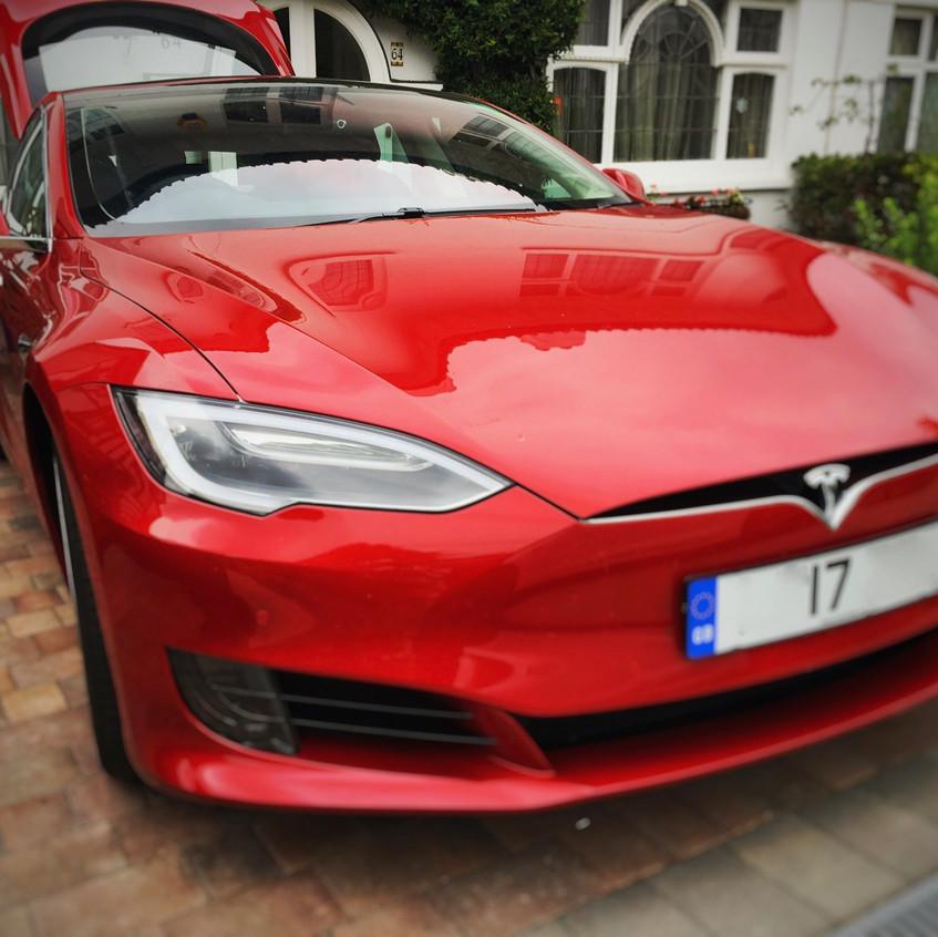Tesla Model S Dashcam Installation Goluk T1 T3 Watford London