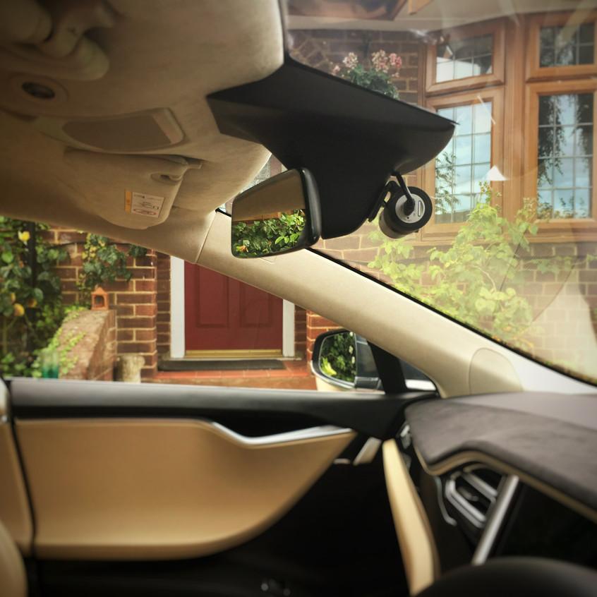 Tesla Model S Dashcam Installation Goluk T1 T3 Staines London