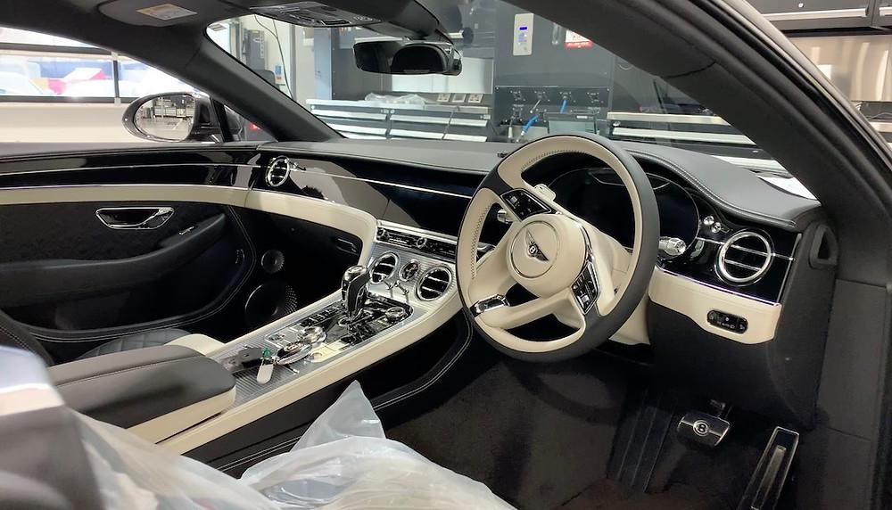 Bentley GT Dashcam installer