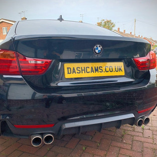 BMW 4 Series Gran Coupe Dash cam install with parking mode surveillance