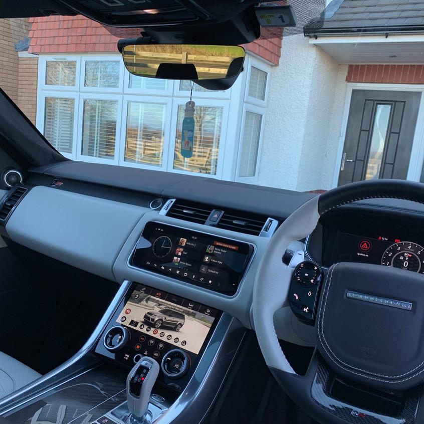 Range Rover SVR Dashcam Installer