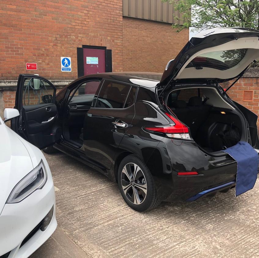 Nissan Dashcam Installer Manchester