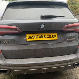 BMW X5 M50d Dashcam & Thatcham tracker install Lincolnshire