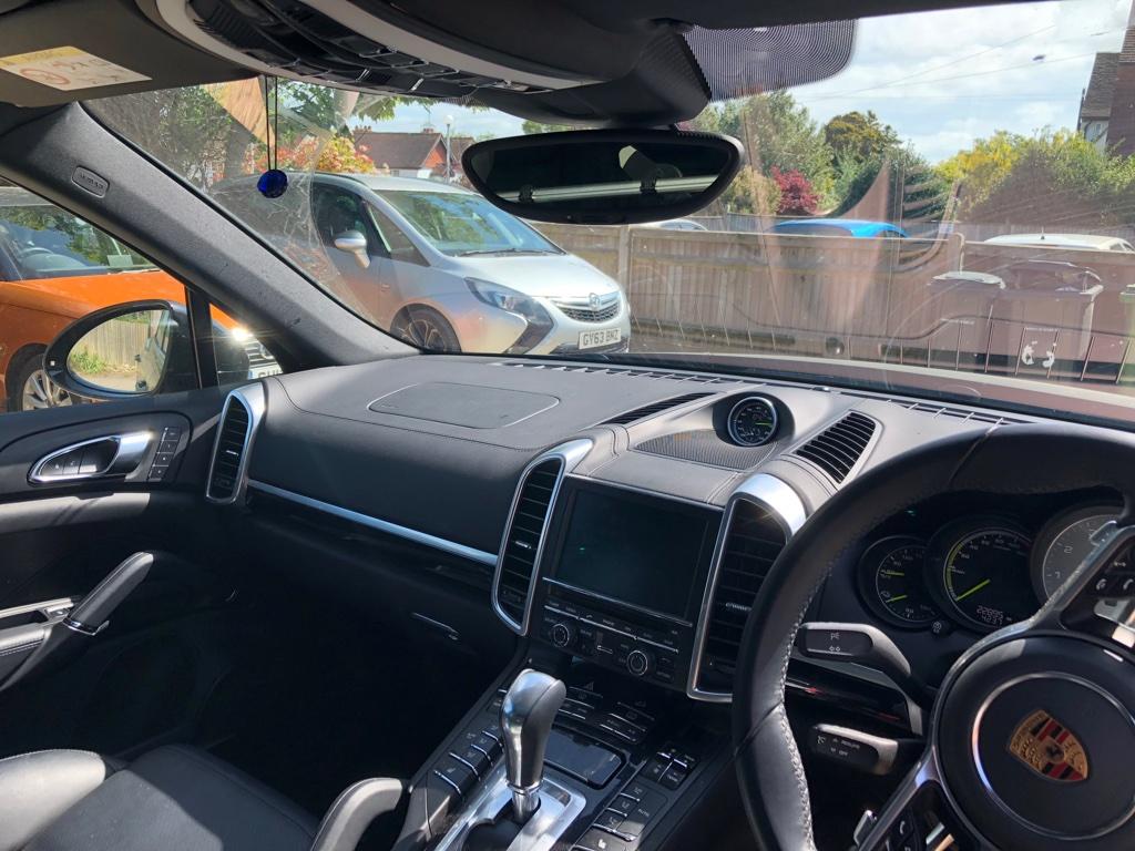 Porsche Cayenne Dashcam