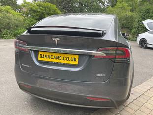 Blackvue Dashcam installer - Tesla Model X - 750x
