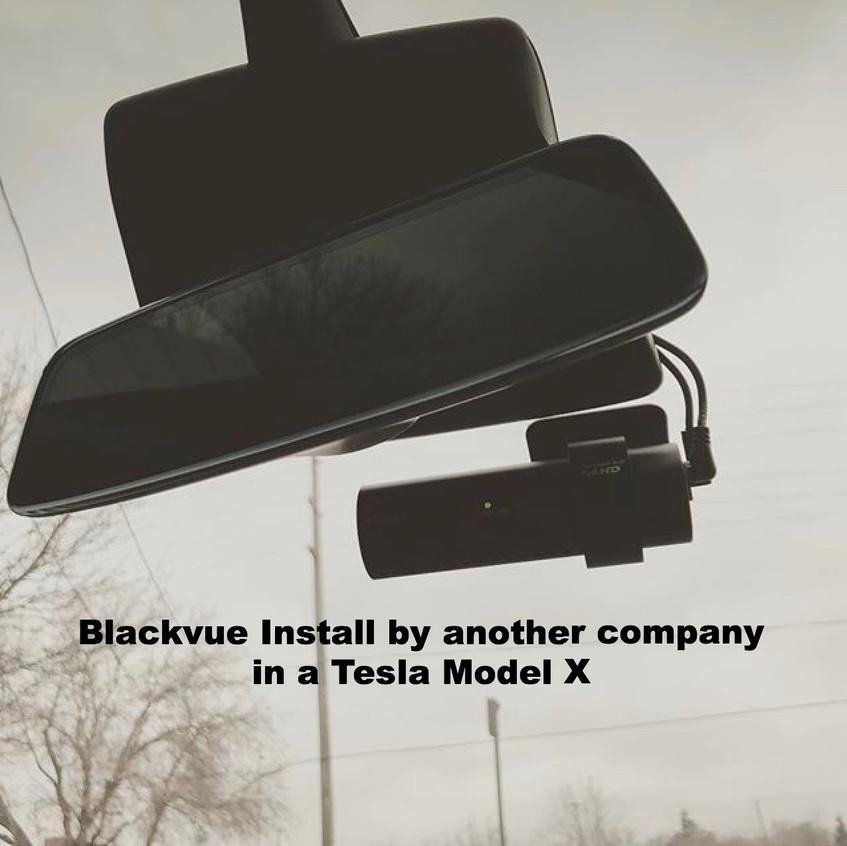 Blackvue 900 install