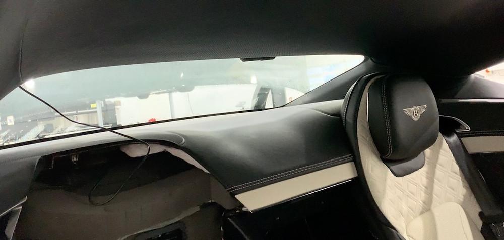 Bentley dashcam fitter
