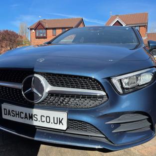 Mercedes Dashcam install A Class Manchester