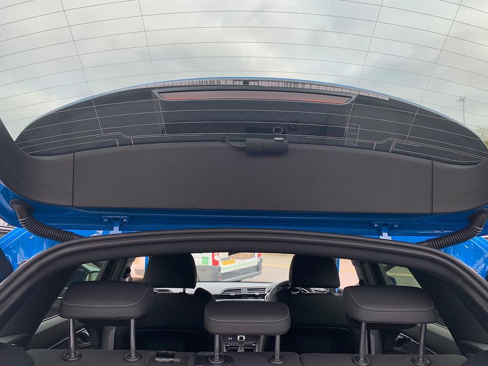 Audi Q3 dashcam