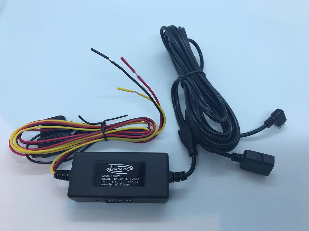 Tornado Dashcam Hardwire kit