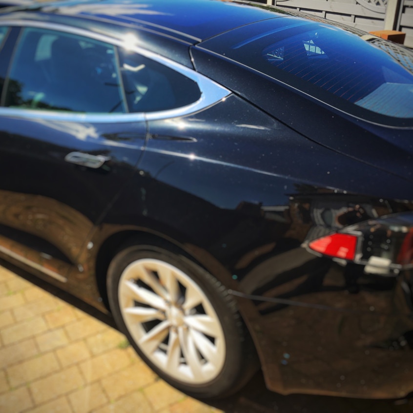 Tesla Model S Dashcam Install Stevenage Herts
