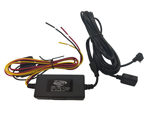 Dashcam Hardwire Cable kit - Advanced Two camera supply system