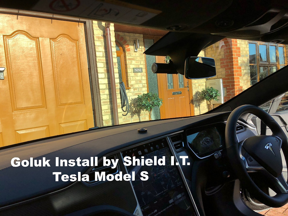 Goluk Professional Full HD Dashcam install