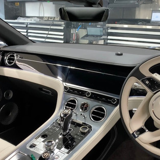 Bentley GT Dashcam install Leicester