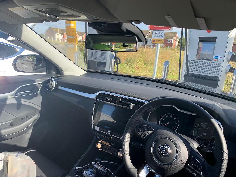 MG ZS EV dashcam