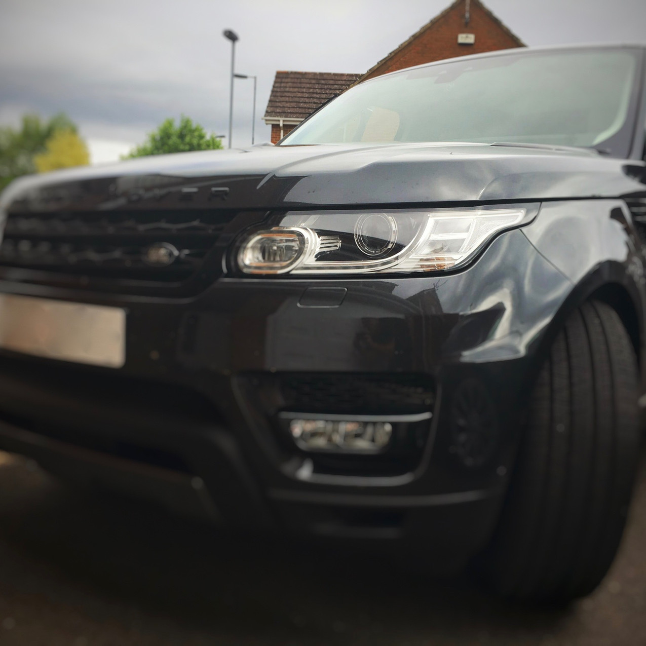 Goluk Professional T1 Dash Camera Installed in a Range Rover Monmouth Wales