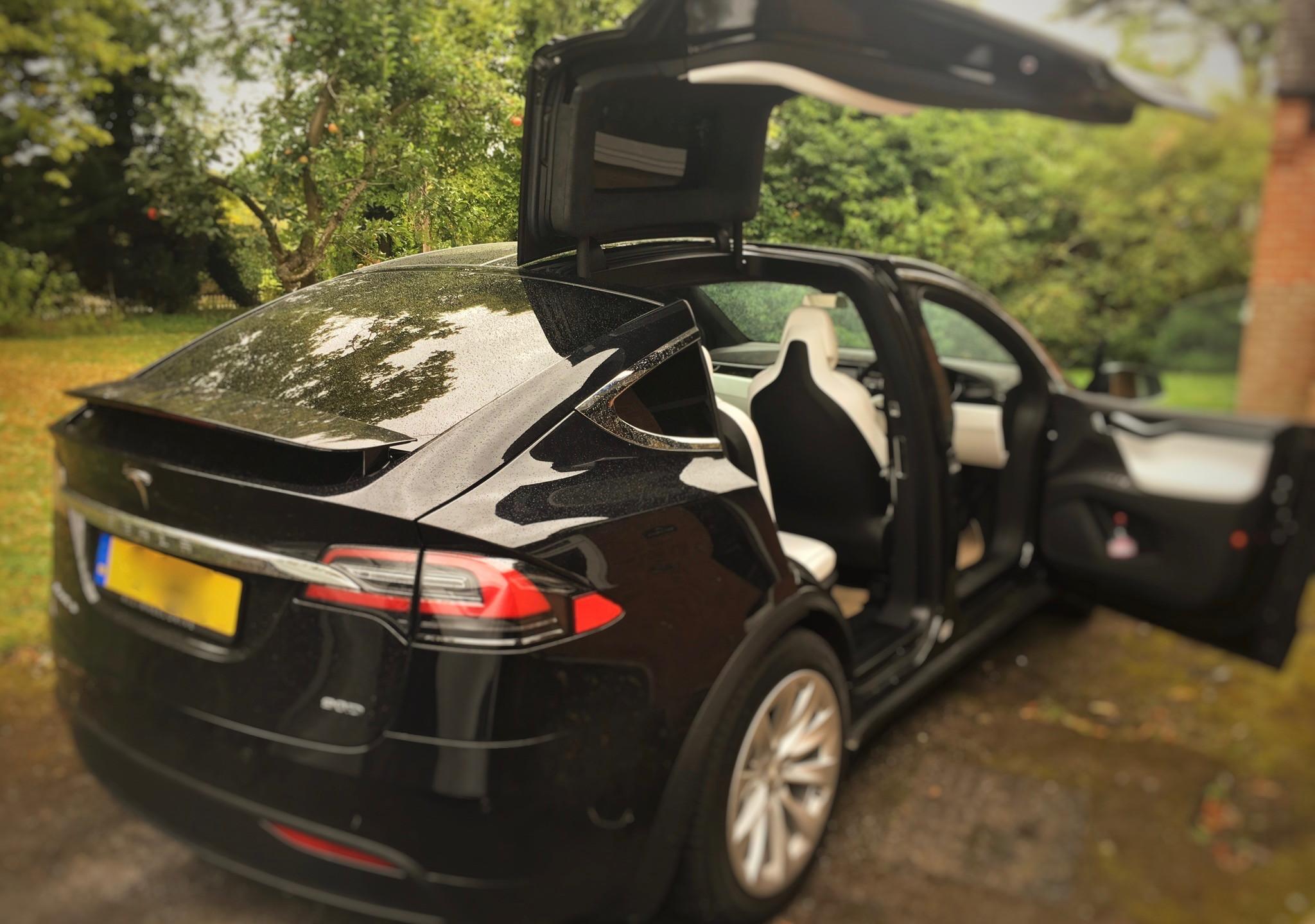 Tesla Model X Dashcam Installation Coventry West Midlands