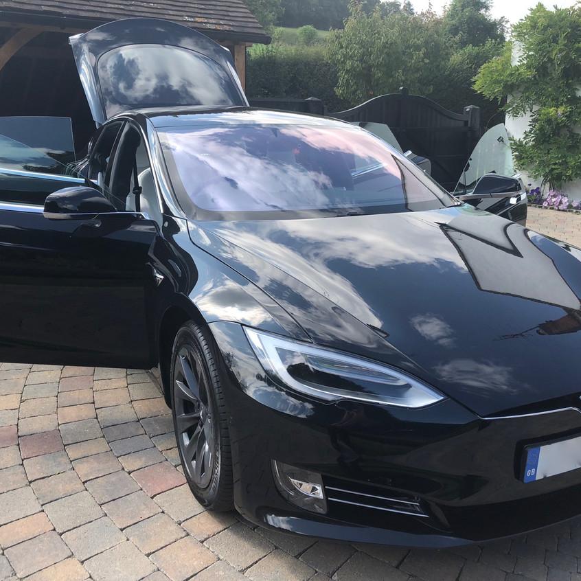 Tesla Model S Dashcam Buckinghamshire