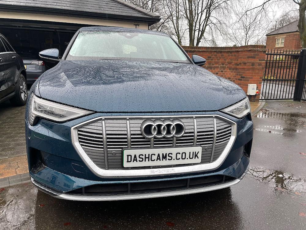 Audi E-tron dash cam