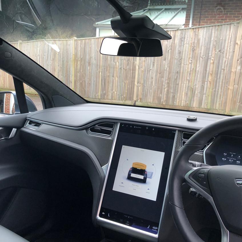 Tesla Dashcam install Goluk Tesla Model X