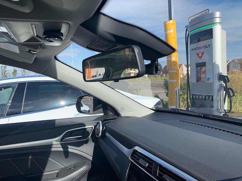 MG EV dashcam