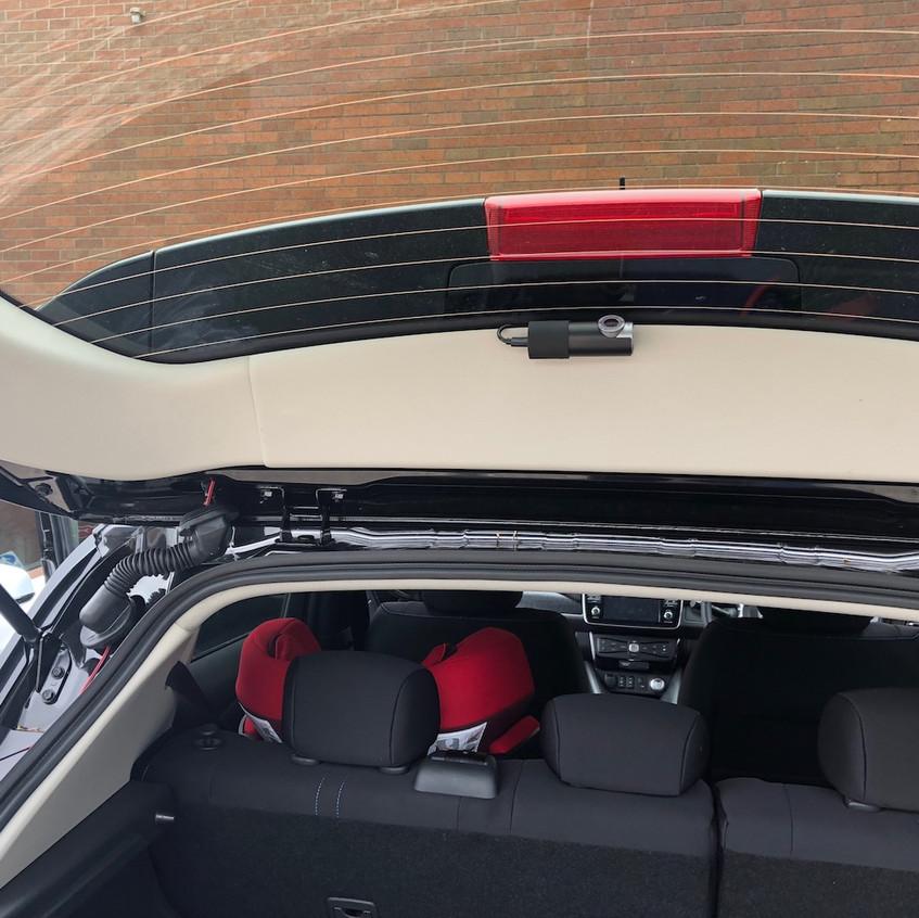Leaf rear Dashcam Manchester