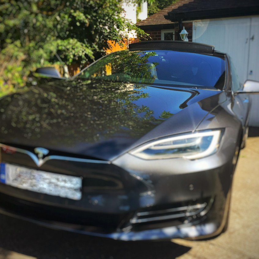 Goluk T1 & T3 Dashcam install into a Tesla Model S  Wirral Liverpool