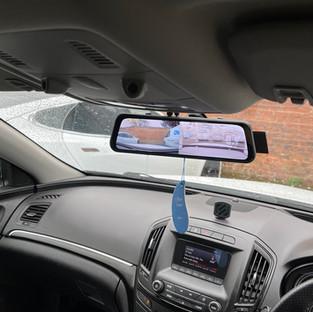 Vauxhall Insignia Mirror Dashcam & reversing camera Install in Hull