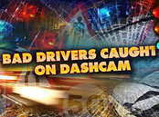 Bad Drivers Caught on Dashcam