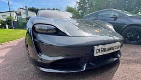 Porsche Taycan Dashcam installer