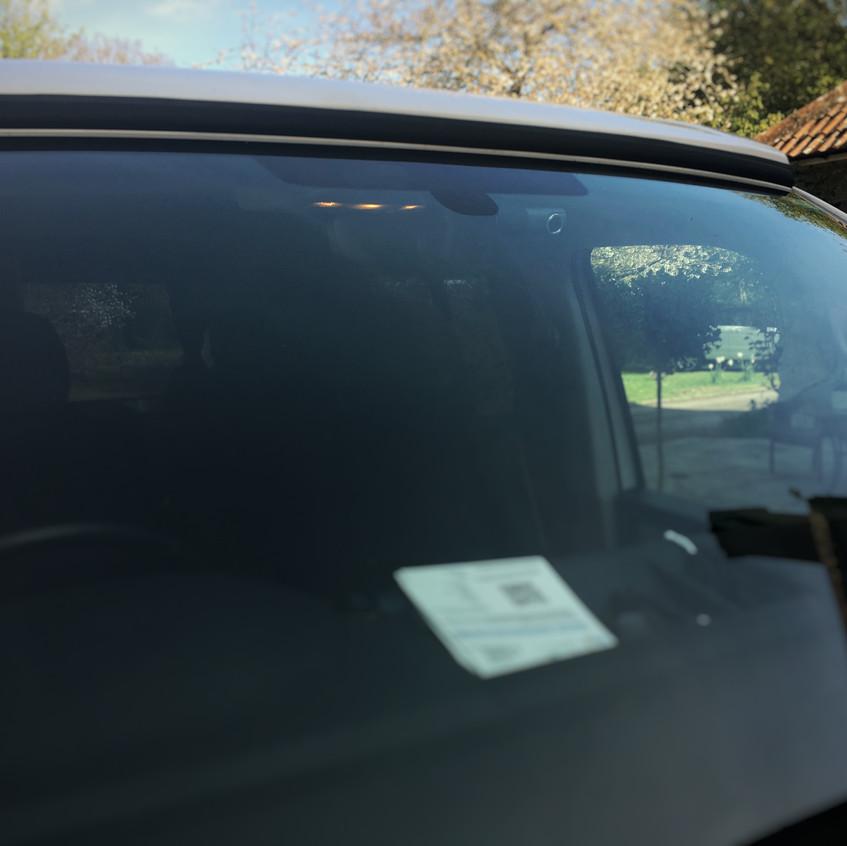 Goluk T3 Front Camera install in a VW T6 Camper