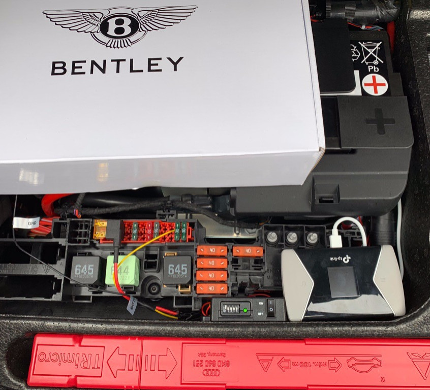 Bentley Dashcam