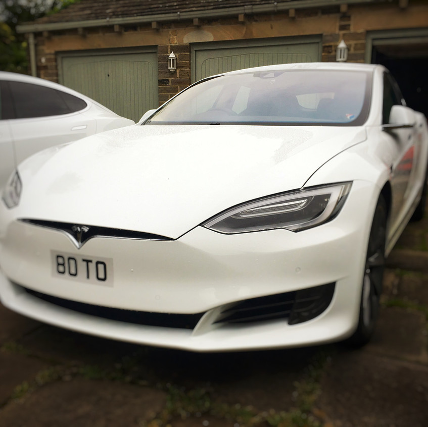 Holmfirth West Yorkshire Tesla Model S Goluk Dashcam install T1 T3