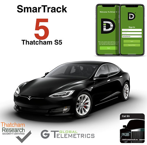 SmarTrack 5 D-ID CAT S5 Tracker Installed