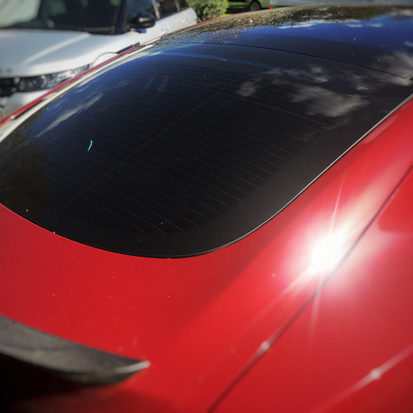 Goluk T3 Rear Camera install in a Tesla Model S P85D
