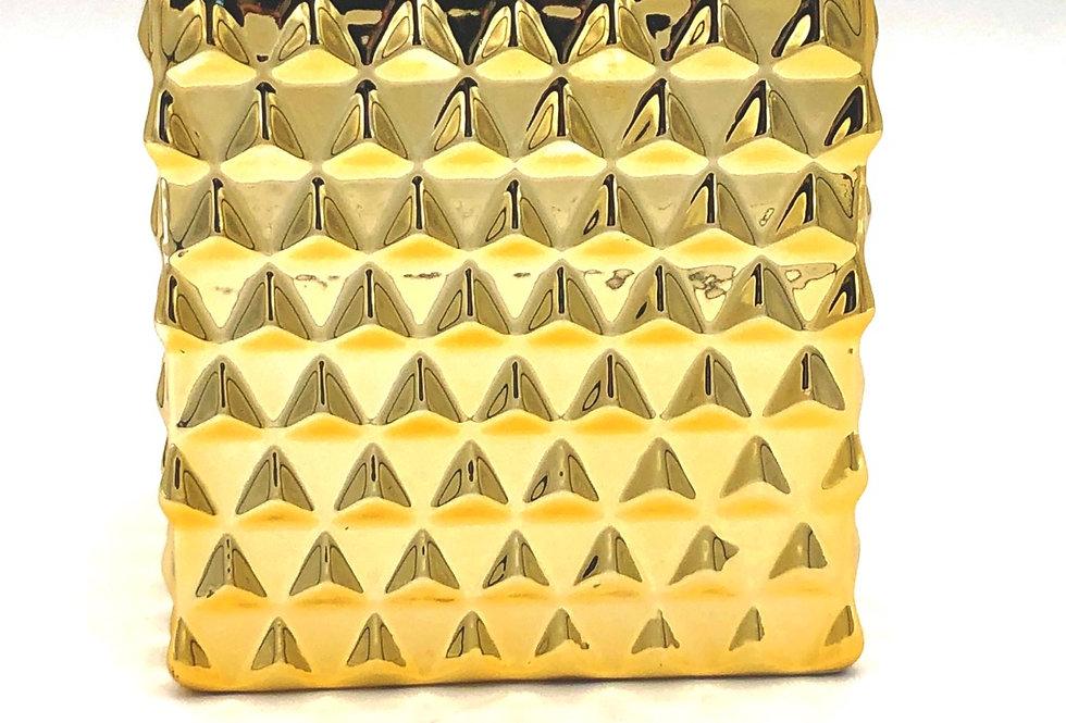 Square Gold Pot